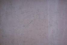 XXX-1-2 Kopie van een kaart van het oostelijk deel van het eiland IJsselmonde.