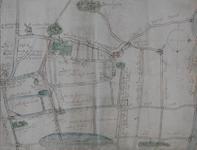 XXX-12-02 Kaart van de wegen en wateren in de omgeving van Hazerswoude, Moerkapelle en Benthuizen