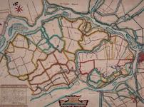 XXX-13-01 Kopie van een kaart van de Zwijndrechtse Waard (oostelijk IJsselmonde). Het afgebeelde gebied wordt begrensd ...