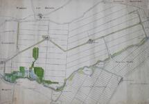 XXX-148-02-01-I Kaart van de Rotte en polders bij Bleiswijk en Bergschenhoek