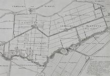 XXX-148-02-01-II Kaart van de Rotte en polders bij Bleiswijk en Bergschenhoek