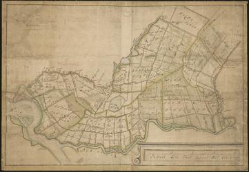 XXX-20 Kaart van zuidoostelijk deel het Hoogheemraadschap van Schieland.