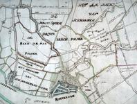 XXX-21 Kaart van Rotterdam en omstreken