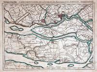 XXX-22 Kaart van Rotterdam en omgeving, IJsselmonde, Putten, en de Hoekse Waard
