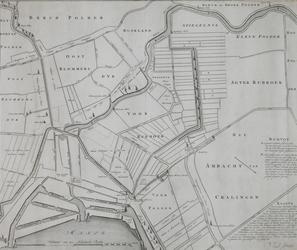 XXX-26-00-01 Plankaart van de Schielandse Hoge Boezem met delen van de omliggende polders