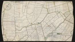 XXX-26-01 Kaart van ambachten en gedeelten van ambachten ten noorden van Rotterdam. Het gebied omvat onder meer de ...