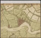 XXX-28 Kaart van Rotterdam en omgeving.