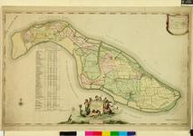 XXX-30 Kaart van het ambacht van Beukelsdijk en het ambacht van Schoonderlo en Cool. Het weergegeven gebied wordt ...
