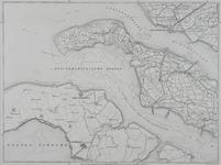 XXX-38-00-01-7 Kaart van de provincie Zuid Holland in negen bladen. Blad VII. Voorne Putten, Hellevoetsluis, Goeree ...