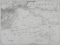 XXX-38-00-01-9 Kaart van de provincie Zuid Holland in negen bladen. Blad IX. Merwede, Giessendam, Gorinchem.