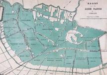 XXX-38 Kaart van de kleine veenplassen in het Hoogheemraadschap van Schieland voor de droogmaking van de Prins ...