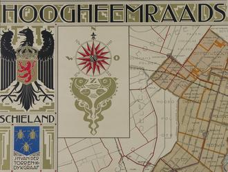 XXX-46-1-TM-4 Kaart van het hoogheemraadschap van Schieland in vier bladen