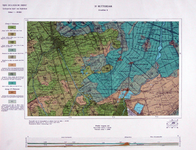 XXX-49 Kaart van Rotterdam en omgeving met aanduiding van plannen voor stadsuitbreiding en woningbouw