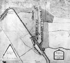 XXX-53C Plattegrond van Delfshaven.