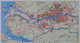 XXX-58 Kaart van de gemeenten in het Rijn mondgebied
