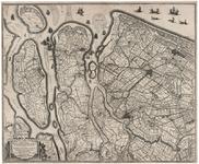 XXX-6 Kaart van Delfland, Schieland, Voorne, Overflakkee, Goeree en IJsselmonde