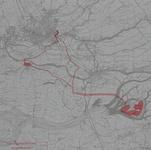 XXX-68B Plankaart van het Biesboschproject van de Drinkwaterleiding Rotterdam