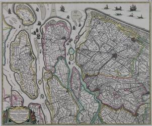 XXX-7 Kaart van: Delfland, Schieland, Voorne-Putten, Goeree-Overflakkee en IJsselmonde