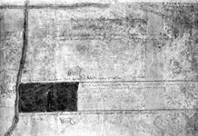 XXXI-148-01-02 Kaartje van een stuk land in de Bergpolder bij de Kleiweg en de Blommersdijkseweg [foto]