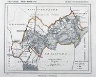 XXXI-148 Kaart van de gemeente Hillegersberg.
