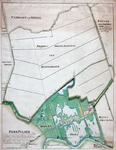 XXXI-148-02-03-1 Plankaart van de droogmaking van Schiebroekse Polder en van de Berg- en Broekpolder met een tweede ...
