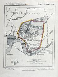 XXXI-269 Kaart van de gemeente Kralingen