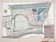 XXXI-271-2 Plattegrond van het slot en het buitengoed Honingen