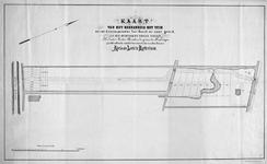 XXXI-275 Kaart van een herenhuis met tuin gelegen tussen de Oudedijk en de Hooge Zeedijk [thans Oostzeedijk]