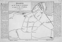 XXXI-36 Kaart van wegen op Overmaas [Rotterdam-Zuid], met beschrijving van wandel- en rijtoeren