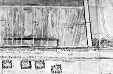 XXXI-369-01-01A Kaart van een gedeelte van de Delftse Schie en omgeving tot aan de Poldervaart