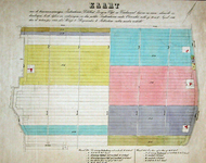 XXXI-371 Kaart van landerijen in de polder Zestienhoven