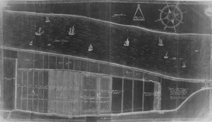 XXXI-475 Kaart van de polder Oud-Smalland bij Pernis
