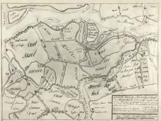 XXXI-590-00-06 Kaart van de heerlijkheid van Ridderkerk [foto]