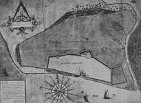 XXXI-597-02-04 Kaart van de bedijkte landen en gorzen van Rozenburg