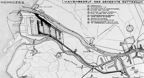 XXXI-597-05-2 Kaart van het plan Europoort