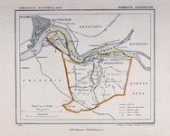 XXXI-610 Kaart van de gemeente IJsselmonde