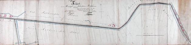 XXXI-64-01 Kaart van de dijk tussen Schiedam en Delfshaven