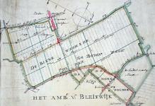 XXXI-691-03 Kaart van de Binnenwegse Polder onder Zegwaard [gelegen ten westen van Moerkapelle]