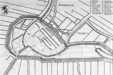 XXXI-695-22 Plattegrond van Schiedam