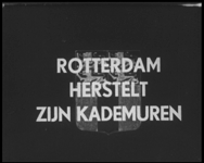 BB-0703-2 Een film over het havenherstel, samengesteld door de afd. Havenwerken en de Fototechnische Dienst van de ...