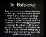 BB-0919 Verslag van de bouw van de Botlekbrug:Deel 1: Het slaan van de eerste paal en gedetailleerd verslag van de ...