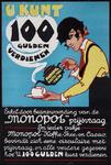 2002-1406 Reclame voor Monopol koffie, thee en cacao met een aankondiging van een prijsvraag.