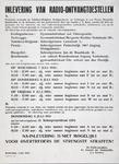 2002-1409 Verplichting tot inlevering van radio-ontvangtoestellen voor inwoners van Kralingscheveer, Terbregge, ...