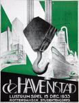 2002-1419 Aankondiging De Havenstad, lustrumspel door het Rotterdamsch Studentencorps.