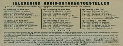 2002-1461 Bekendmaking lijst van namen van personen die verplicht zijn tot het inleveren van radio-ontvangtoestellen.