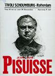 2002-1535 Aankondiging van een optreden door Jean Louis Pisuisse in schouwburg Tivoli.