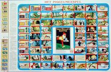 2002-969 Piggelmeespel naar de sprookjes Het tovervisje en Hoe Piggelmee groot werd, uitgegeven door de firma Van Nelle.
