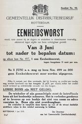 2005-2269-24 Bonlijst 95 van het Gemeentelijk Distributiebedrijf Rotterdam voor een nader te bepalen periode vanaf 3 ...