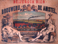 G-0000-0068 Beijersch Bier Brouwerij De Amstel. De Pesters Kooy & Co., Amsterdam.