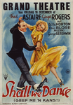 G-0000-0095 Grand Theatre. Fred Astaire - Ginger Rogers. Shall we dance. Geef me 'n kans!